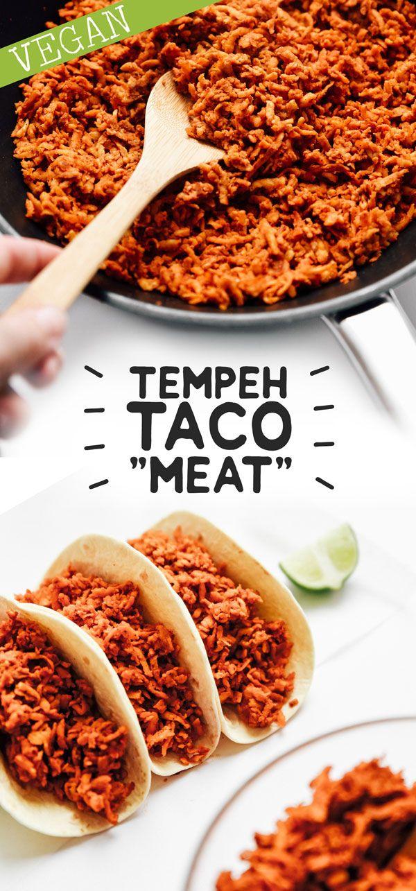 Tempeh Taco Meat (vegan + GF)