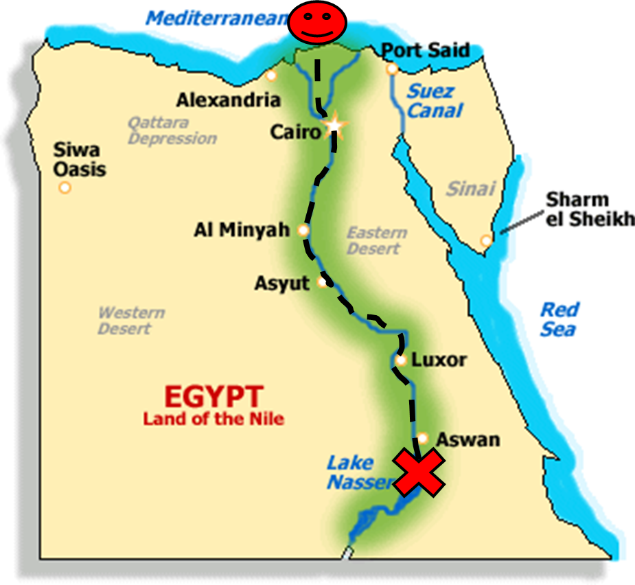 Water For Sixth Grade Floating Down The Nile Teaching Social - Map of ancient egypt for 6th grade