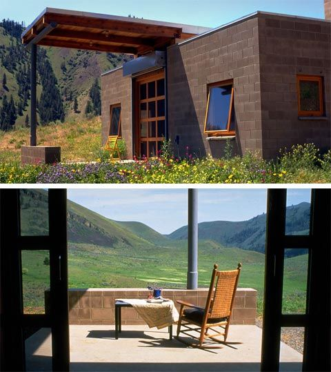 Tiny cinder block tiny house inspiration pinterest for Cinder block cabin