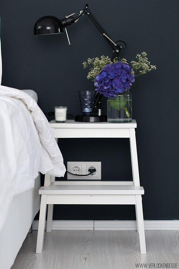 IKEA Hack Nachttisch Hocker