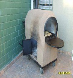 Bienvenido a horno de barro con ruedas obras horno - Como cocinar en un horno de lena ...