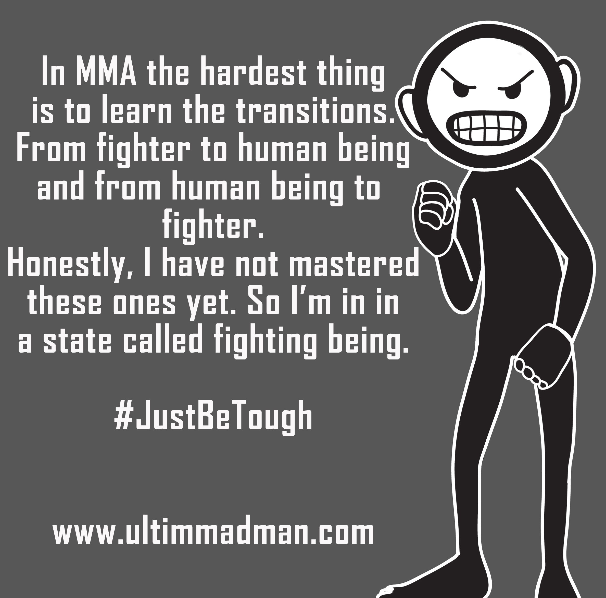 Smartass Quotes: Smartass MMA Quote 9