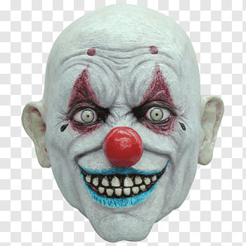 Evil Clown Mask Joker Costume Krusty The Clown Png Evil Clowns Evil Clown Mask Krusty The Clown