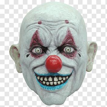 Evil Clown Mask Joker Costume Krusty The Clown Png Evil Clowns Evil Clown Mask Krusty The Clown