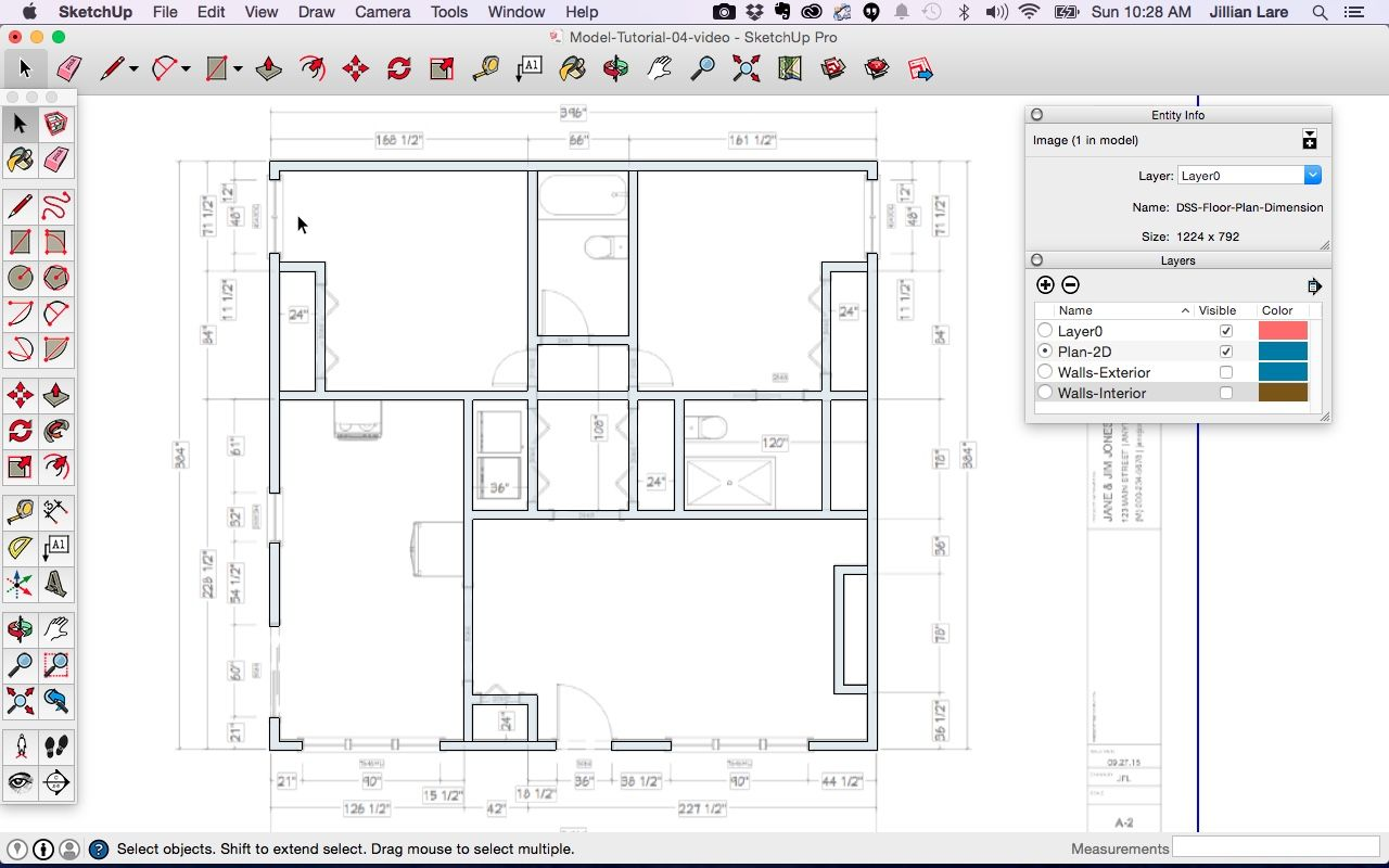 Perfect How To Draw A 2d Floor Plan In Sketchup And View In 2020 Floor Plans Architectural Floor Plans How To Plan