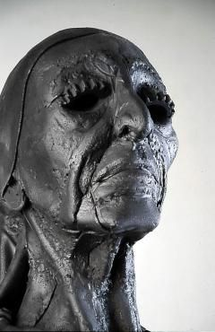 Louise Nevelson ~ Steel Head by Al Farrow