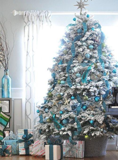 very cute blue christmas tree Cute Pinterest Blue christmas