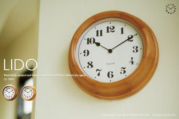 インターフォルム Lido リド Smtb K Kb Interform Http Item Rakuten Co Jp Interform Inc Cl 7976 ヴィンテージの時計 置き時計 時計