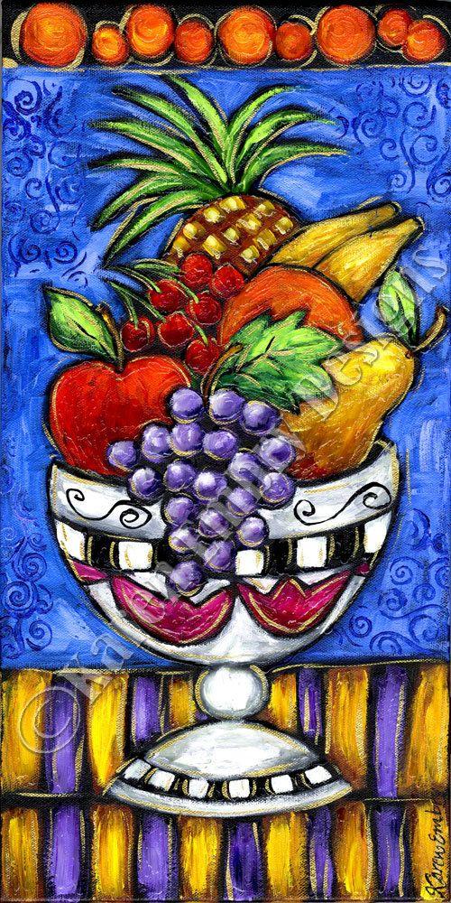 fruit painting on canvas original acrylic painting by karenembry 145 00 fruit painting fruits drawing acrylic painting canvas fruits drawing acrylic painting canvas