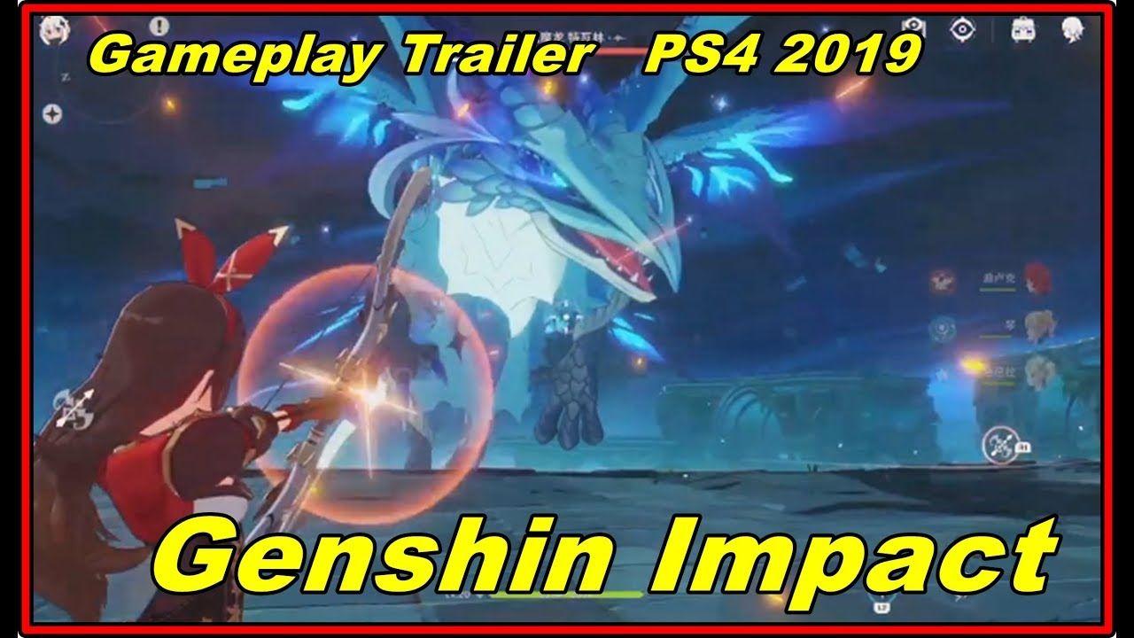 Genshin Impact Gameplay Trailer PS4 2019 | Ps4, Cinema ...