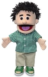 Kenny, Boy Puppet, Peach Skin (14) #handpuppets