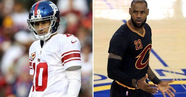 #NFL #NBA King Eli: The LeBron James of Football  http://sportsngiggles.com/nfl/king-eli-lebron-football/