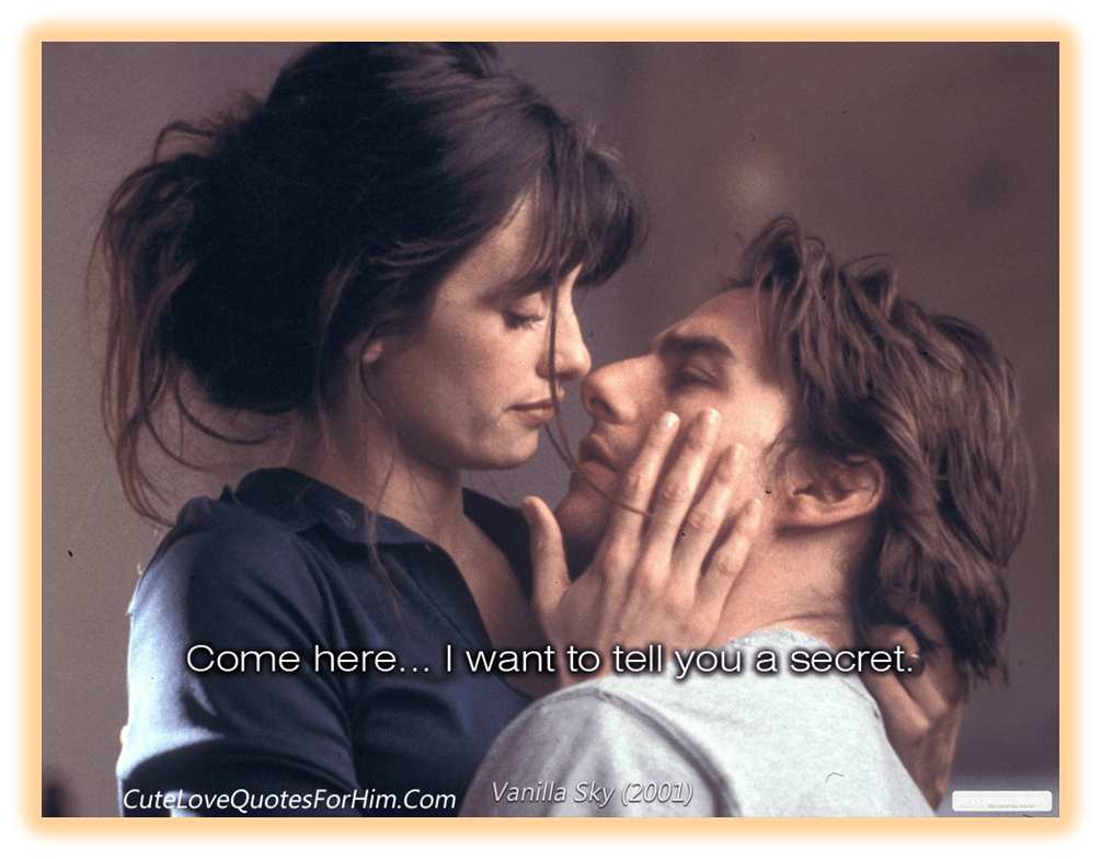 Romantic movie quotes