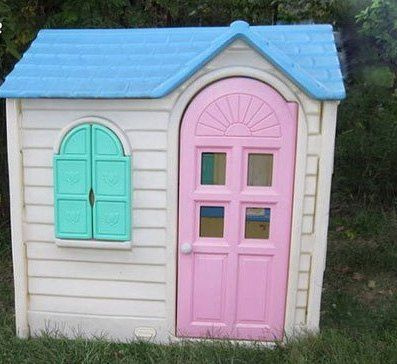 Playhouse To Pump House Diy Project, Little Tikes Outdoor House