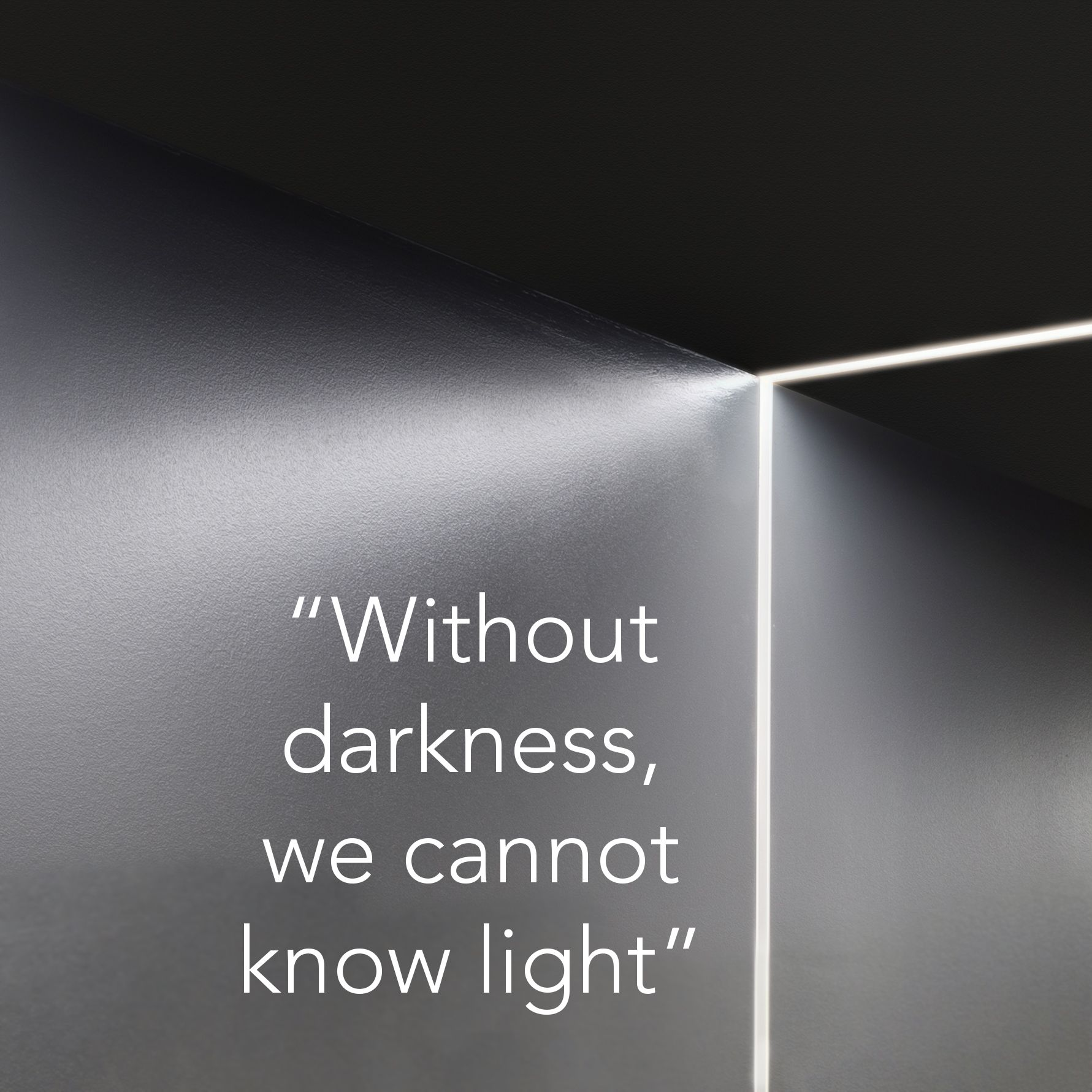 out darkness we cannot know light lighting quote light