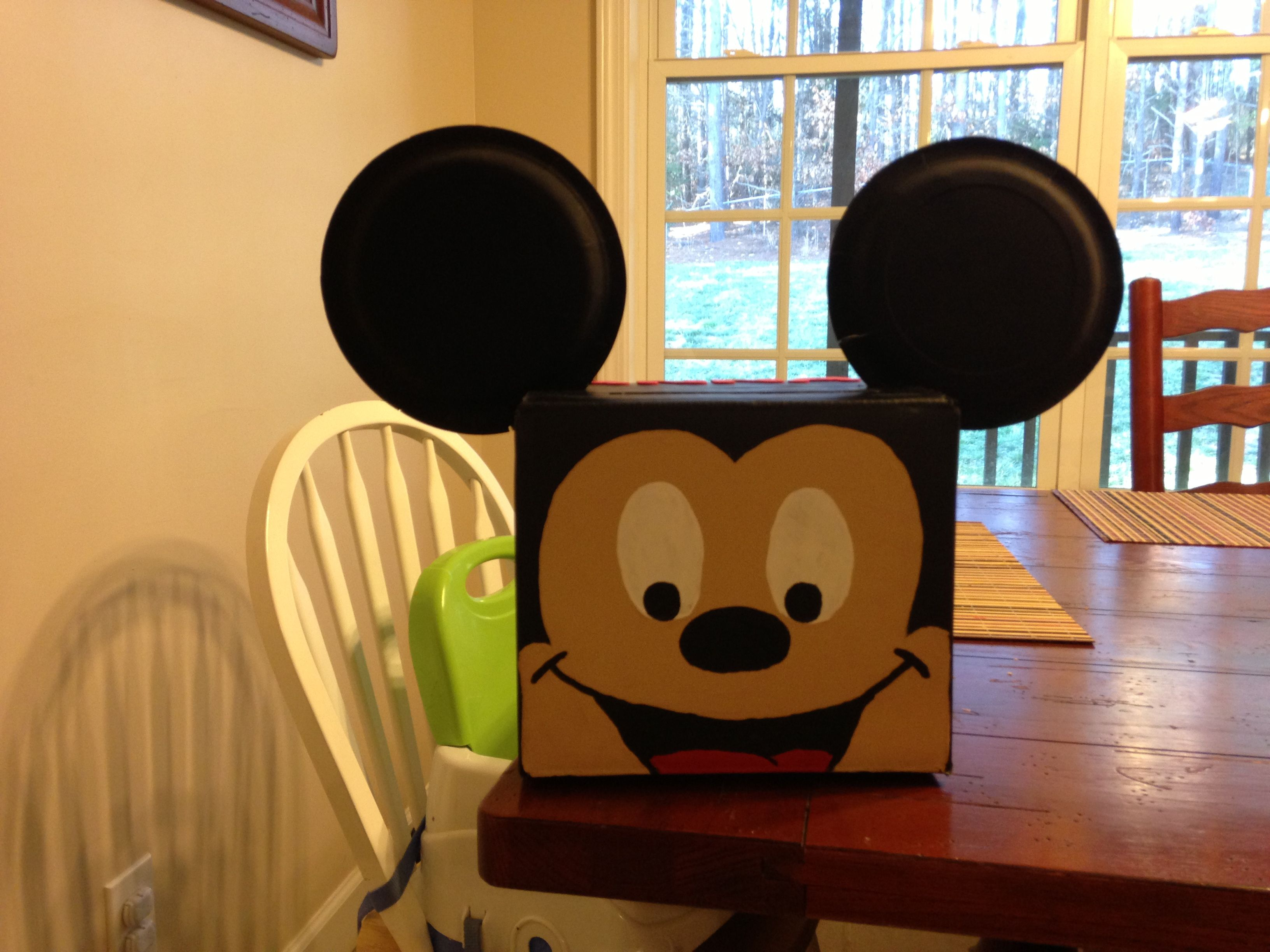 Mickey Mouse Valentines Day Box Coolest Ever