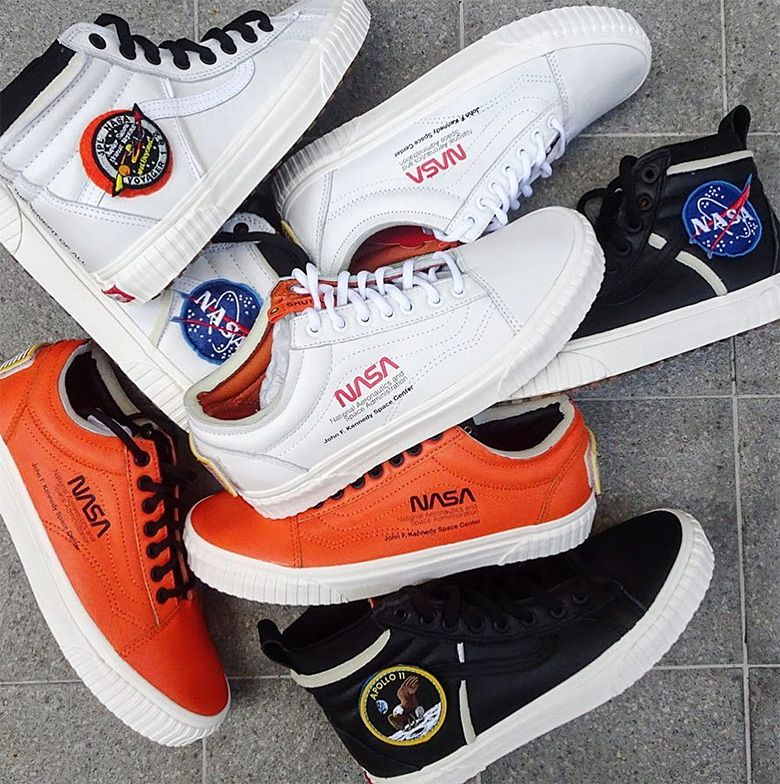 618b2b7809bcb Where To Buy The NASA Vans Footwear Collection | Crunk**Vans in 2019 ...