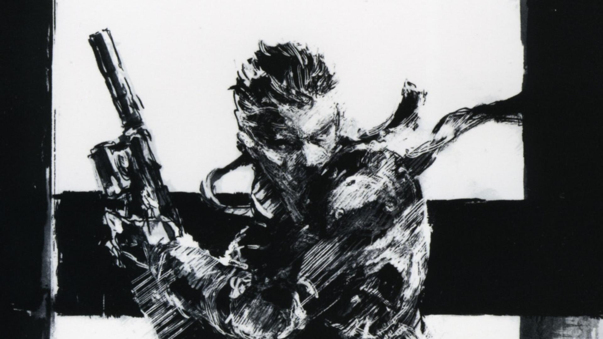 Metal Gear Solid Art wallpaper Love Wallpaper Pinterest