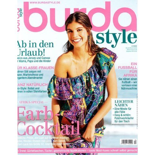 Amazon.com:Burda Style   English Ed Magazine Subscription
