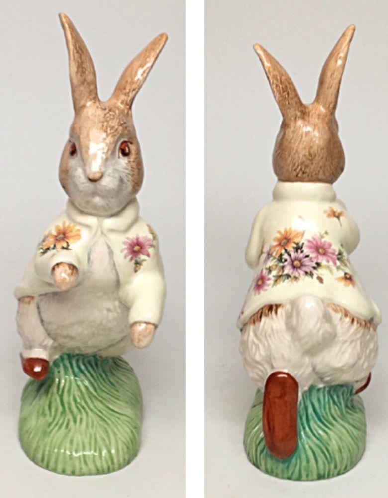 "Large Size Chrysanthemum Coat-Beswick Beatrix Potter Figurine ""Peter Rabbit""  | eBay"