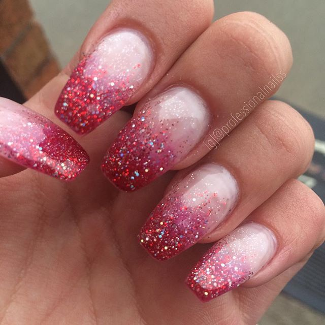 """""""Making blood look fabulous with sparkles ✨"""" Photo taken by @professionalnailss on Instagram, pinned via the InstaPin iOS App! http://www.instapinapp.com (10/15/2015)"""