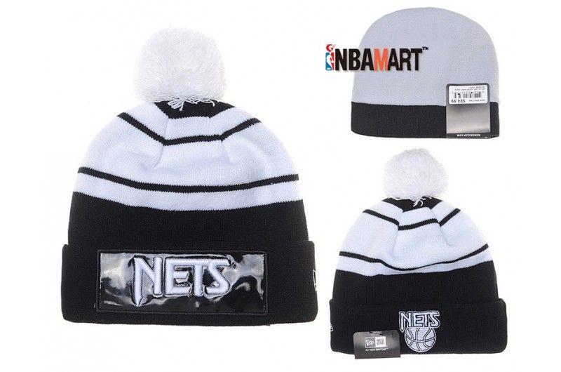 45c86b63eeb New Era Brooklyn Nets BeanieKnit Warm Snapback Warrio Fans Hip Hop ...