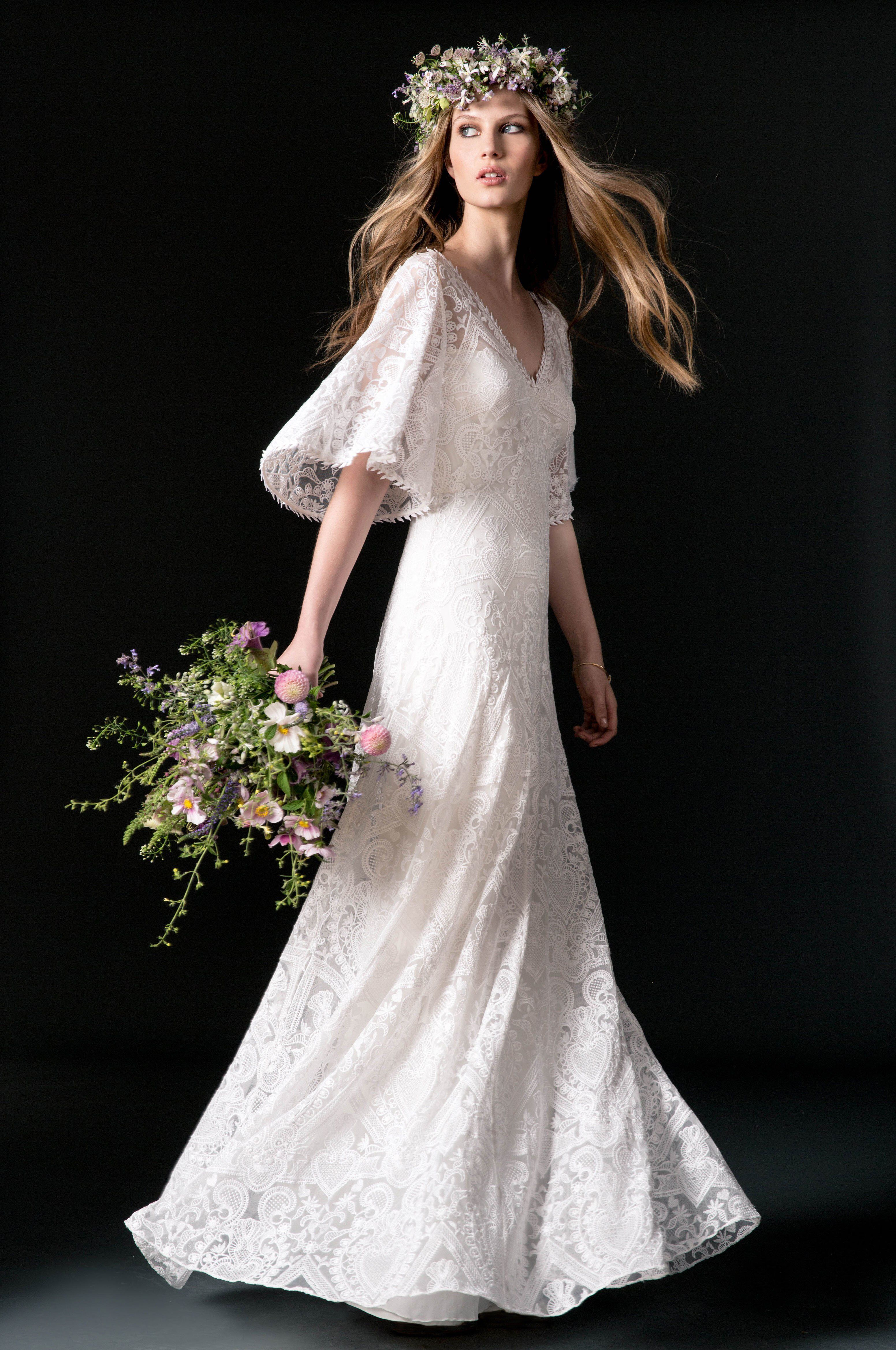 Temperley london bridal fall fashion show collection wedding