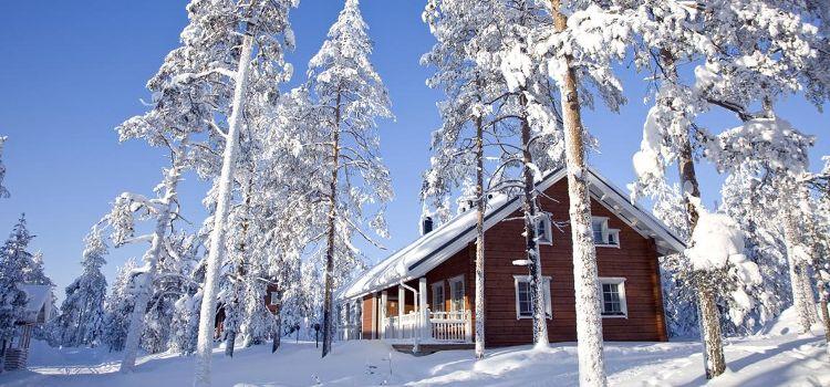 Cabañas en Laponia en plena naturaleza