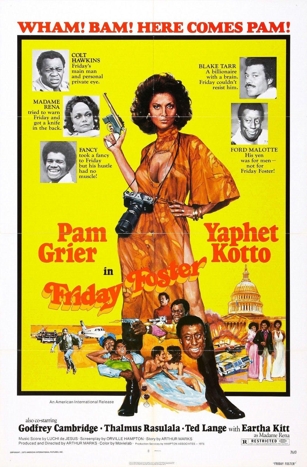 Movie Blaxploitation 70s Poster Exploitation Poster Cinematografia Film