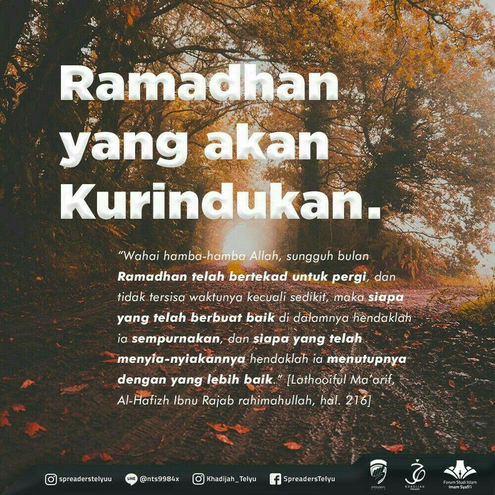 Ramadhan Yang Kurindukan Dengan Gambar Motivasi Kutipan Bijak