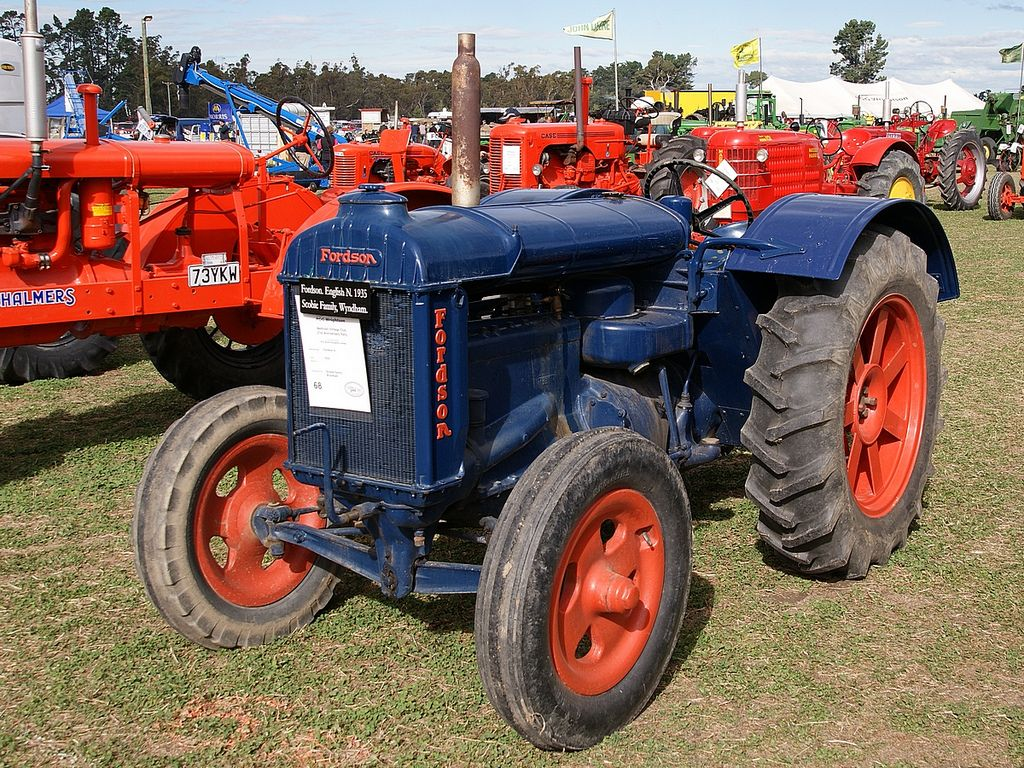 1935 fordson english n tractor by hugh mccall