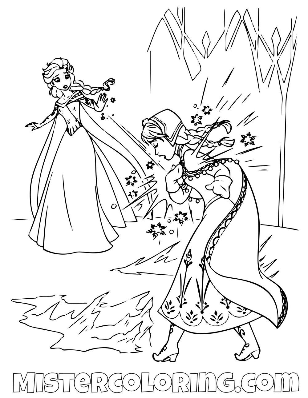 Pin by Mister Cijo on Frozen 2 Coloring Pages For Kids
