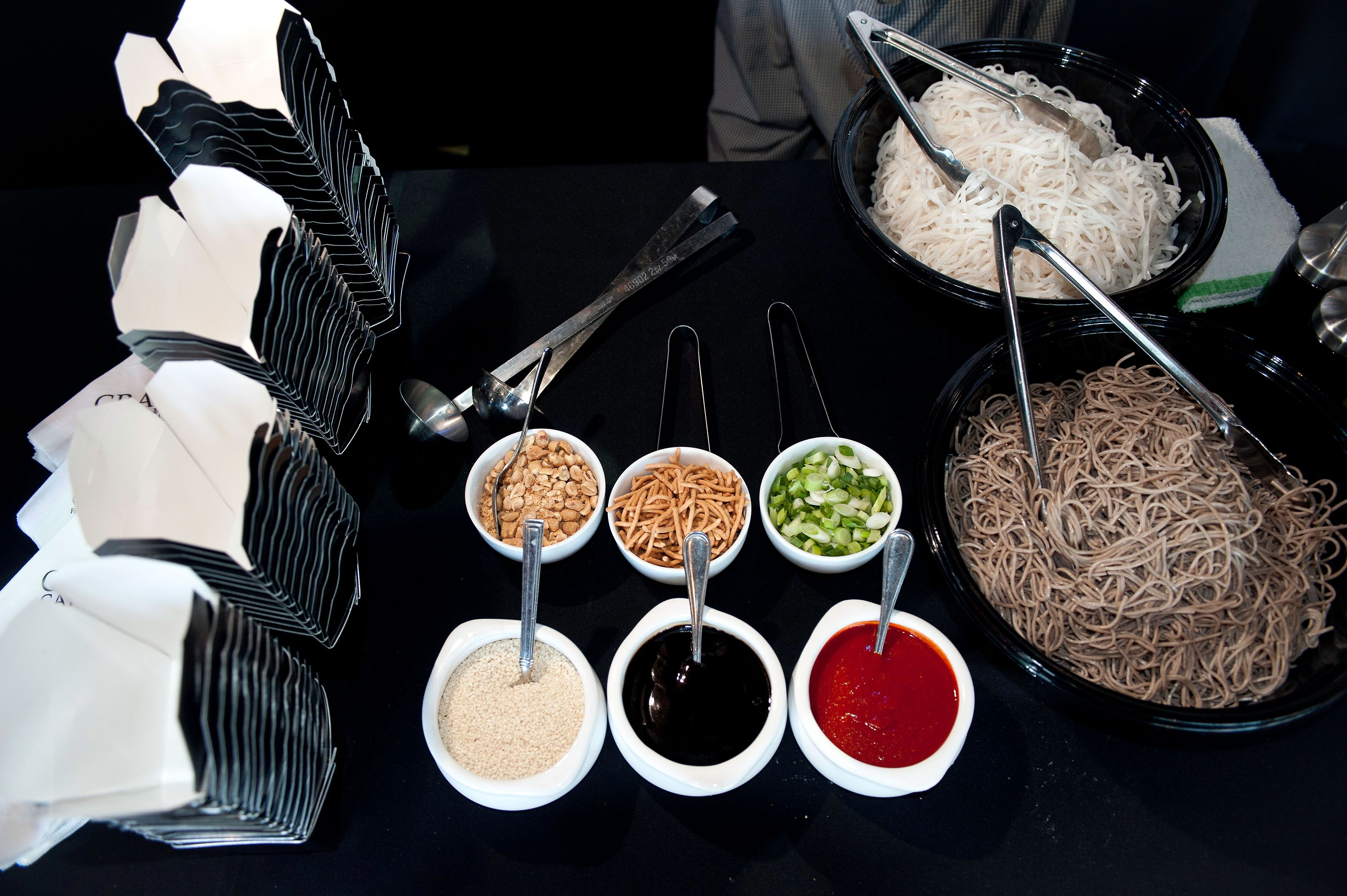 Interactive Asian Wok Station Crave Catering Minneapolis Mn Food Stations Food Cravings