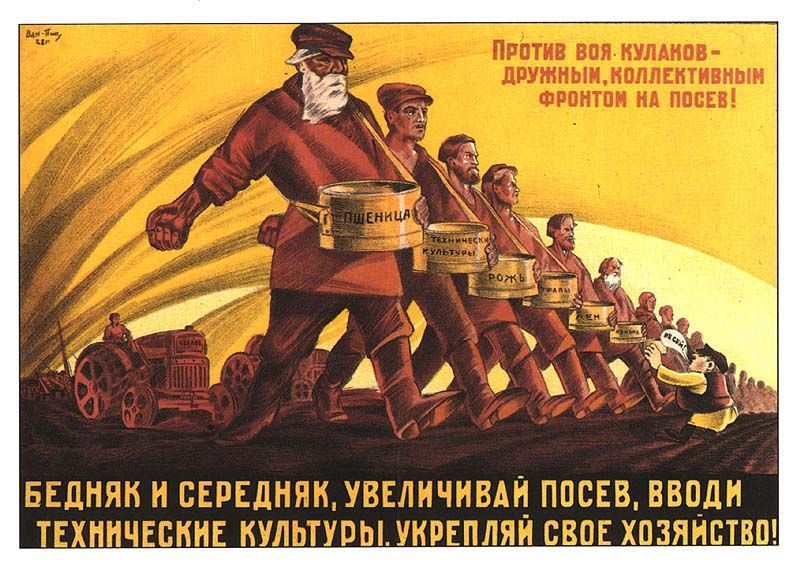 Collectivisation and industrialisation in russia