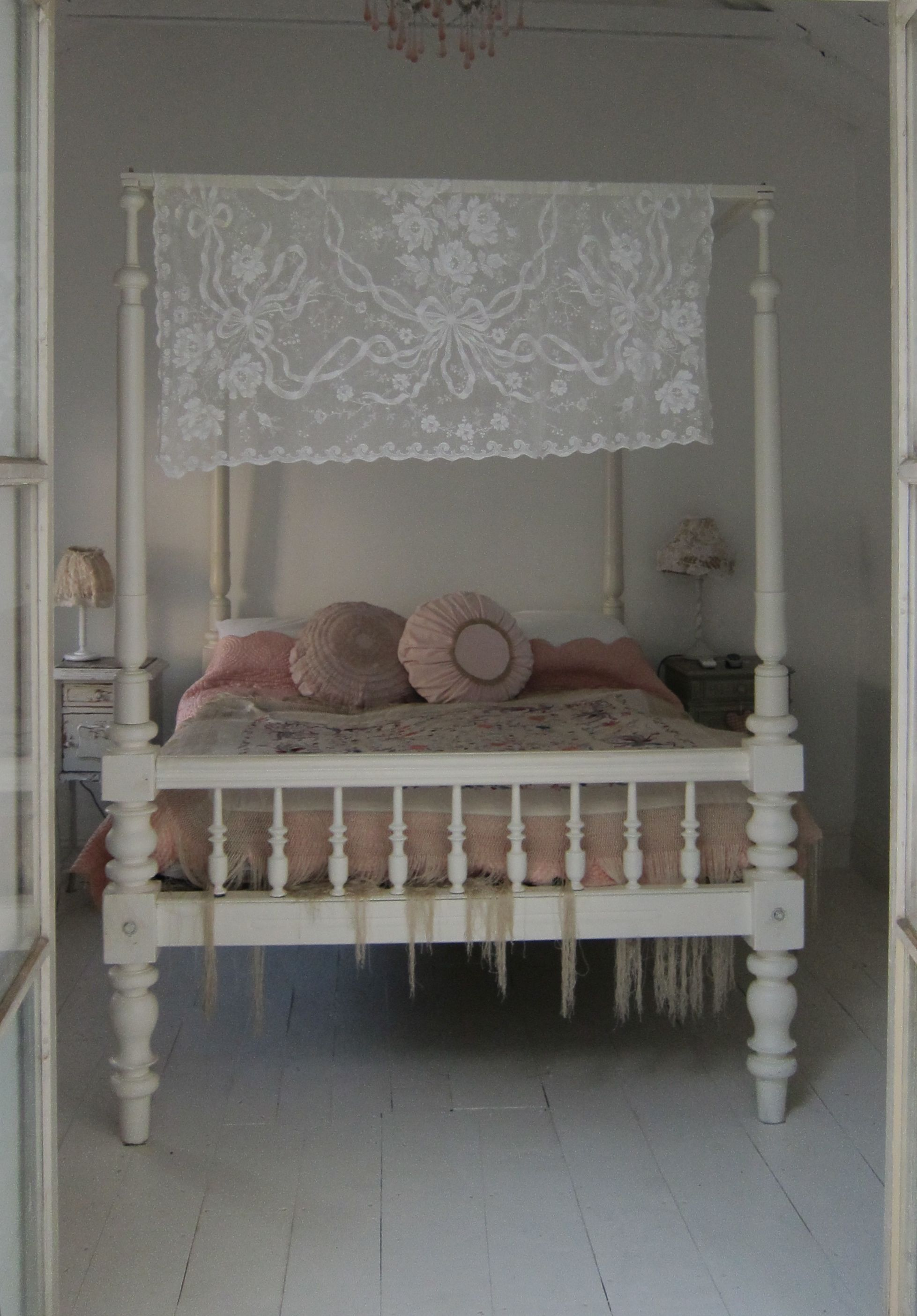 The Peaceful Guest Room · Shabby Chic BedsAntique BedroomsPeaceful BedroomAmazing  BedsBeautiful ...