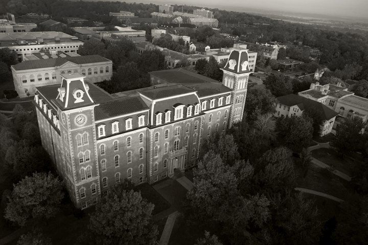 Old Main.  My second home.  Well, technically that would be Bell.  But Old Main looks prettier.