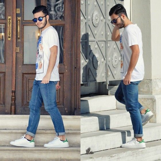 H&M Jeans, Adidas Stan Smith Sneakers