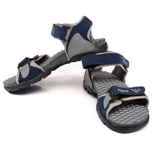 Buy Sparx Navy Floater Sandals at