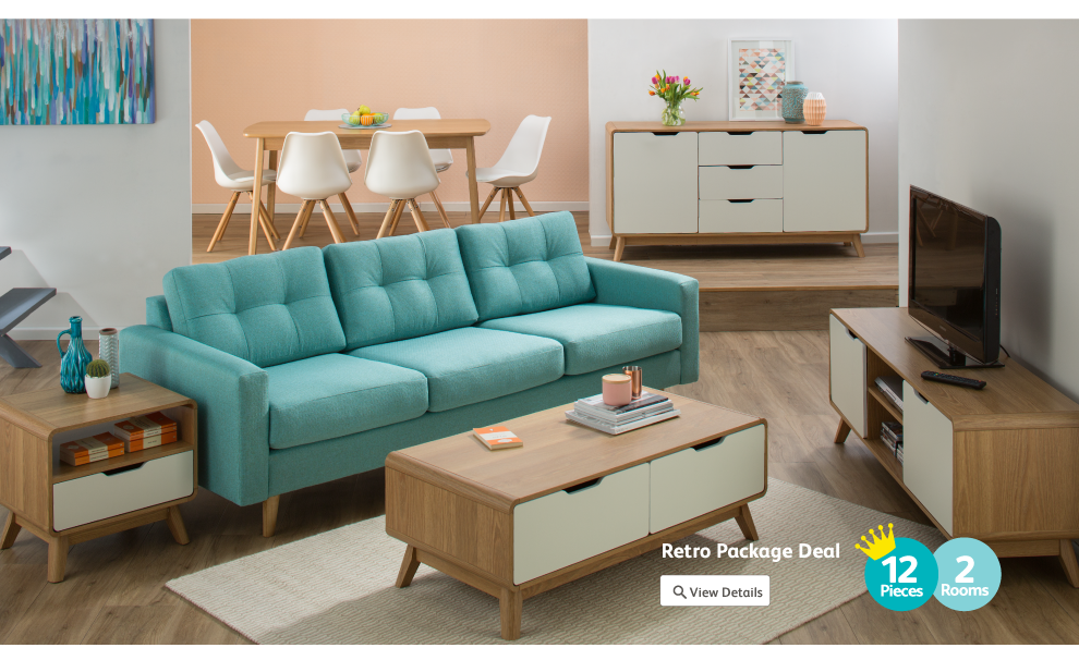 Discover the Retro furniture range from Fantastic
