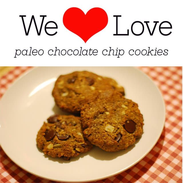 paleo choc chip cookies- Kathy Lee can you eat these? They look GOOD