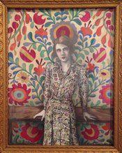 Illuminating the Stars: Ruth Gordon by Alicia Justus. SOLD. #goldenera #oldhollywood #ruthgordon