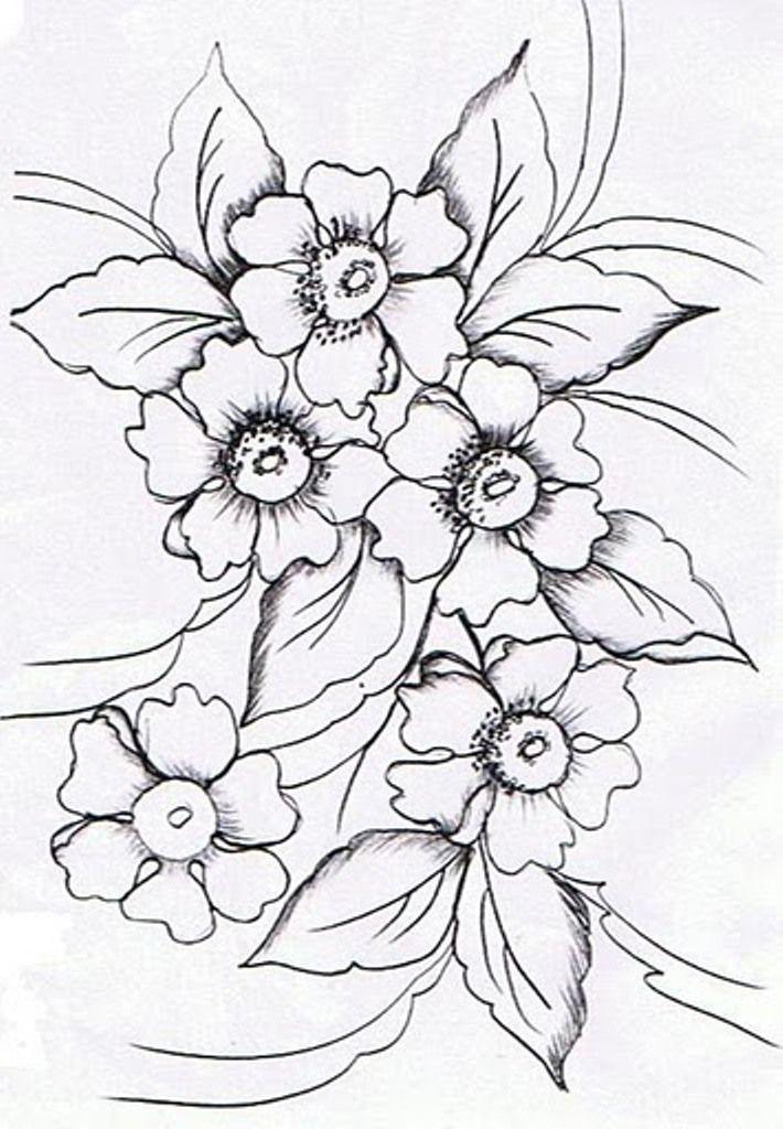 Laminas en blanco y negro motif pinterest embroidery for Laminas blanco y negro