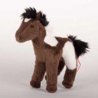 Aztec 8 Indian Paint Plush Horse