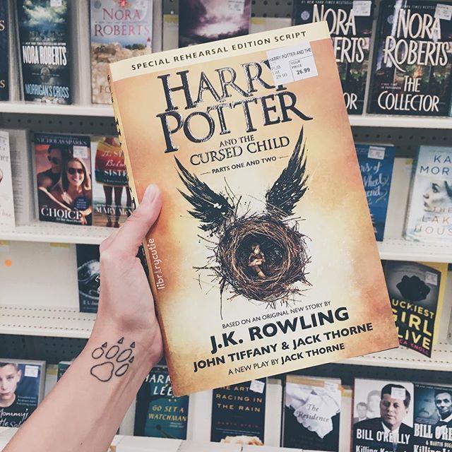 Instagram Photo By Cᴏᴜʀᴛɴᴇʏ 20 Kᴇɴᴛᴜᴄᴋʏ Aug 4 2016 At 10 23pm Utc Cursed Child Harry Potter Cursed Child Book
