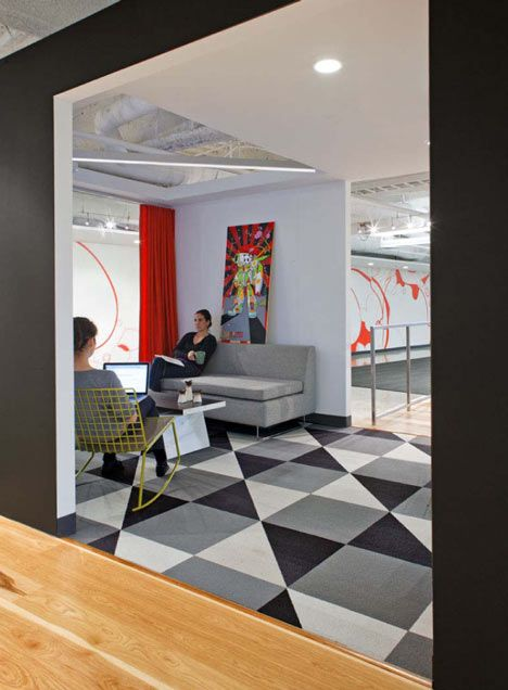 Awesome Dreamhost Offices By Studio O+A Amazing Design