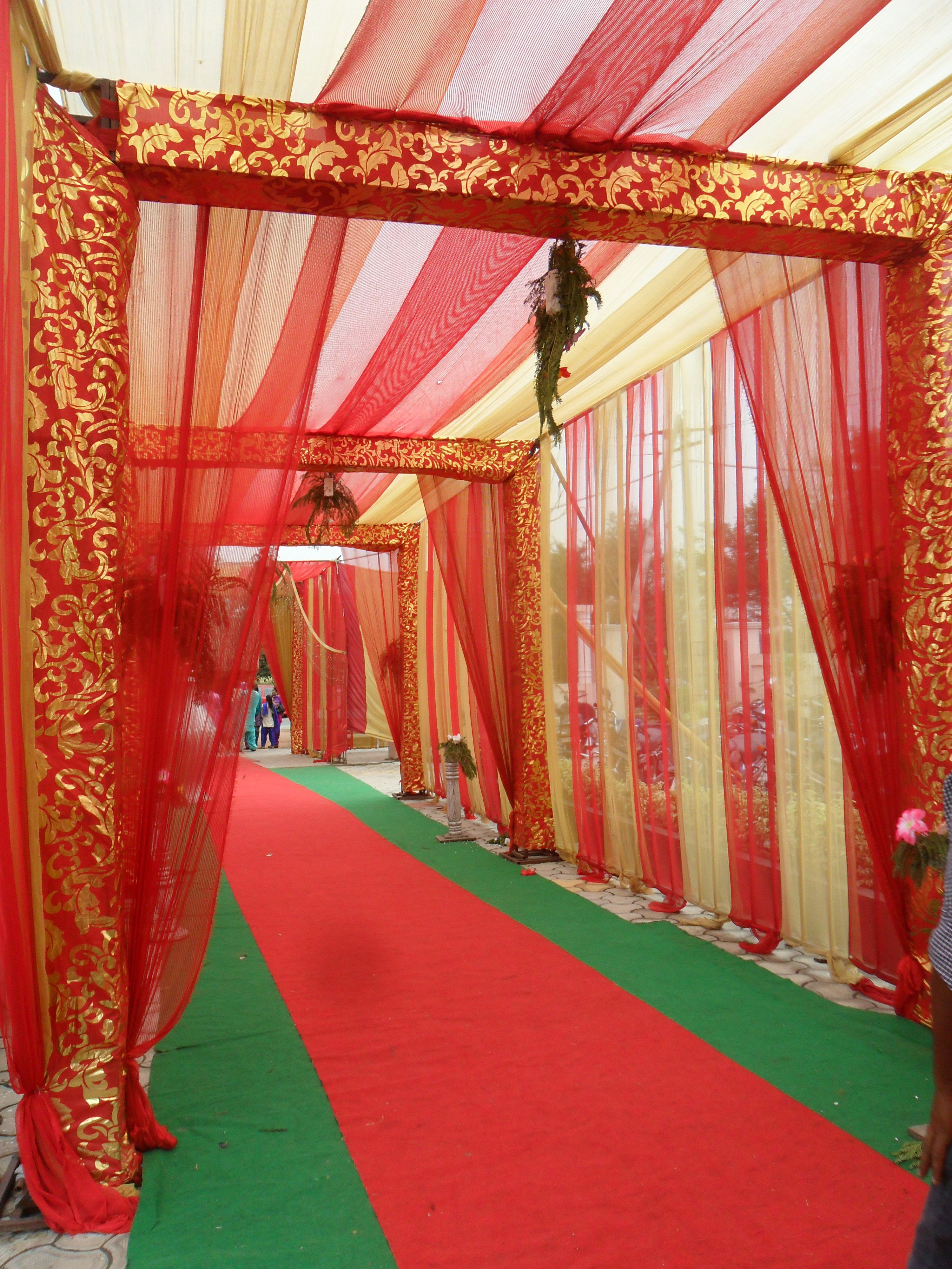 Bold and colourful decor at wedding in india india party
