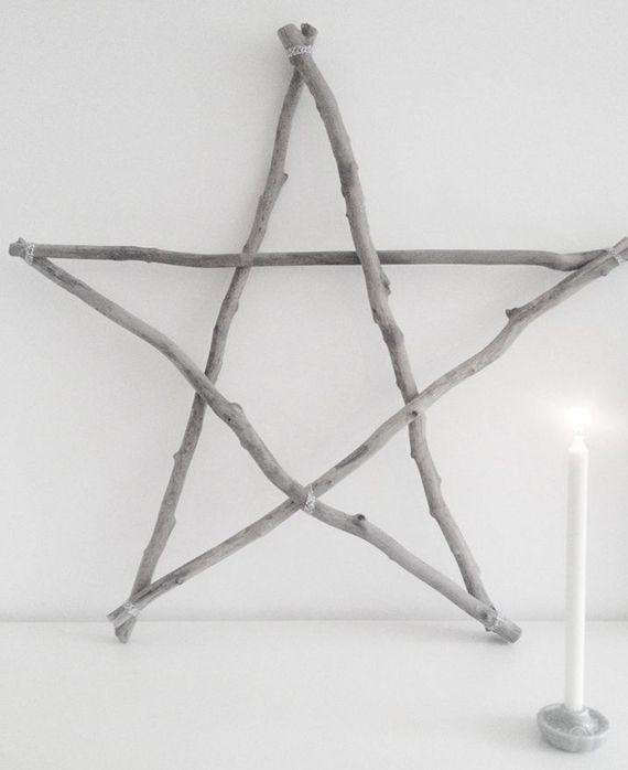 Wie kann ich einen Stern aus Holz basteln? #holzideenweihnachten