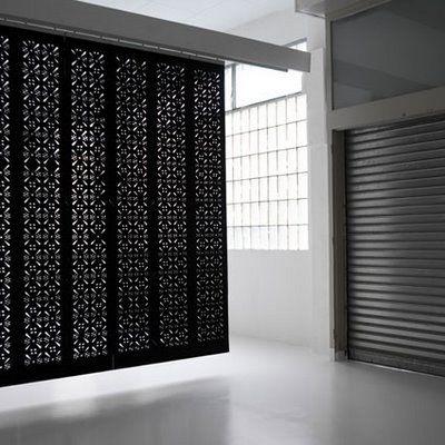 Felt Blinds Lovely And Lightweight Pattern Screen
