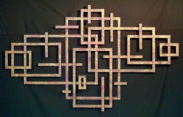Charmant Metal Wall Art That Makes A Statement   Laser Cut An MDF Board (DragonM)