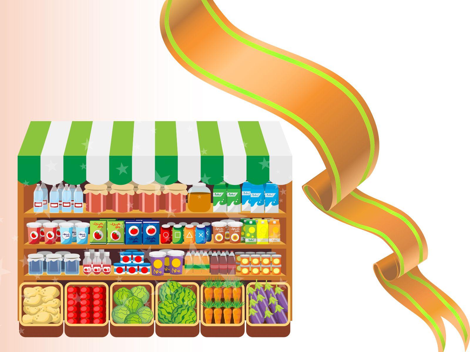 Food Market Backgrounds